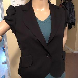 Black short jacket/blazer